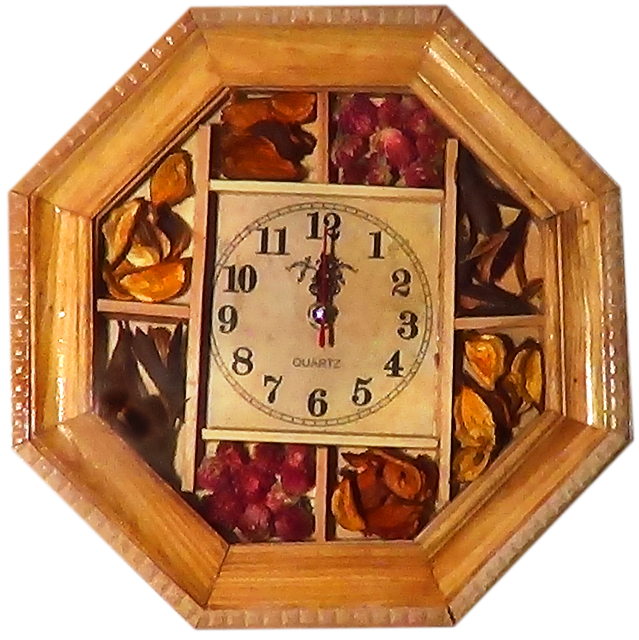 Reloj de Pared Semillas