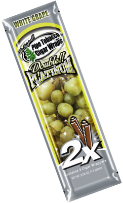 White Grape Blunt Wrap Platinum 2X