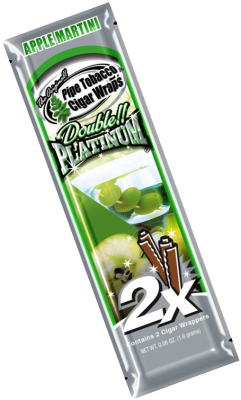 Apple Martini Blunt Wrap Platinum 2X